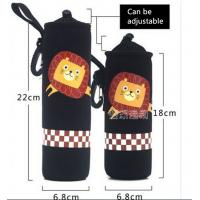 Buy cheap Neoprene Water Bottle Sleeve Insulated Glass Drink Bottle Cover size:18cmc*6.8cm  Material is neoprene product