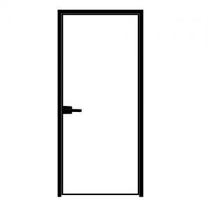 Buy cheap Narrow Side Aluminum Casement French Doors Black Anodized 1.5mm Thickness product