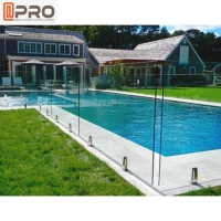 Buy cheap Aluminum Swimming Pool Balustrade Luxury Outdoor Glass Handrail product