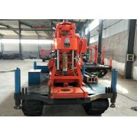 XY-3 Crawler Mounted DTH Drilling Rig / Water Well Borehole Drilling Rig