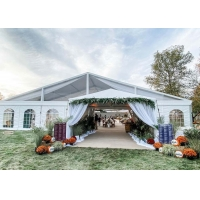 China Event Banquet Marquee, Clear PVC Wedding Party Roof Top Tent For 1500 People on sale
