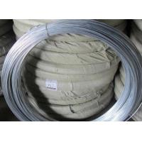 Buy cheap Q195 Galvanised Iron Wire , Silver Mesh Weaving Galvanized Binding Wire product