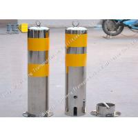 Buy cheap Traffic Controlling Removable Security Bollard Rustproof With CE / ISO9001 product