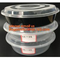 Buy cheap Reusable Take Away Plastic Salad Bowl With Fork And Dressing box and Source Container,Disposable take away plastic salad product