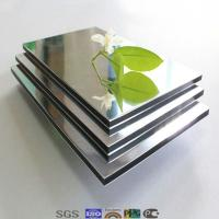 Buy cheap New arrival color for mirror acp alucobond/ brown mirror product