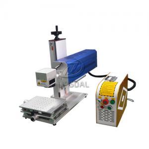 Buy cheap Mini Glasses Lens Marking Machine Co2 RF Laser Marking Machine 30W product
