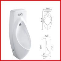 Buy cheap cheap automatic sensor ceramic urinal with cover male urine bowl product