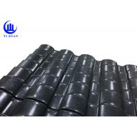 Buy cheap Beautiful Villa ASA Color Corrugated Plastic Roofing Sheets Customized For New Countryside product