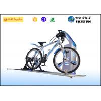 China Sport 9D VR Game Virtual Bike Simulator With Wireless 3D Vr Glass CE Approved on sale