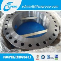 China carbon steel A105 flange for heat exchanger on sale