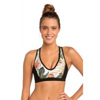 Buy cheap Women's Colorful Neoprene Wetsuit Crossback Top for Surfing Snorkeling Paddling product