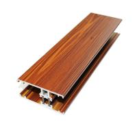 Quality Highly Glossy Aluminum Extrusion Window Frame Rectangle For Sliding Window for sale