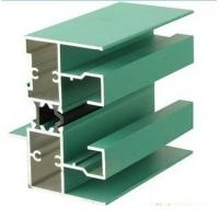 Buy cheap 6005 T5 Aluminum Window Extrusion Profiles With Mill Finished / Powder painted / Anodized  Surface product