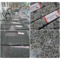 Buy cheap Bathroom / Kitchen Green Solid Granite Worktops 0.01% Water Absorption product