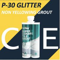Buy cheap Polyasparitc Material White Floor Tile Grout Weather Resistance Anti Mould product