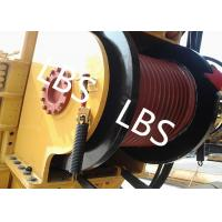 Buy cheap Single Drum Marine Anchor Winch Left And Right Rotation Direction Lebus / Helical Grooving product