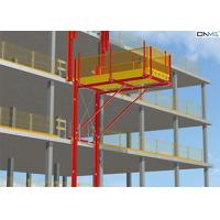 Buy cheap Red Aluminum Alloy Cantilever Loading Platform For Removing Material product