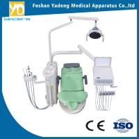 China Double Color Ajustable Dental Chairs With Linak DC Motor 5 Years Warranty wholesale