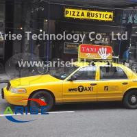 Buy cheap Double sided P5 Taxi top advertising display P4 Taxi LED banner signs P5 TAXI LED Display product
