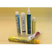 Buy cheap Dia 13.5 - 40mm Aluminum Cosmetic Tubes , Collapsible Eco Tube Packaging product