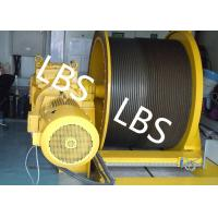 Buy cheap ISO9001 Electric Winch Machine With Lebus Grooving For Platform And Emergency Lifting product