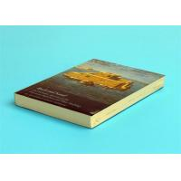 Buy cheap A5 Novel Softcover Book Printing Services , Glossy Lamination Single Black Inner Page product