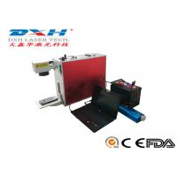 Buy cheap High Precision Laser Logo Printing Machine , 3d Laser Engraving Machine For Metal product