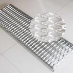 Buy cheap Anti - Slip Diamond Galvanized Steel Grating product