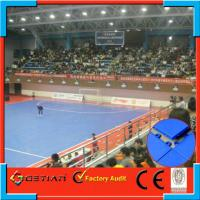 China Indoor / Outdoor Triangle Soccer Mats , Futsal Flooring With Removable on sale