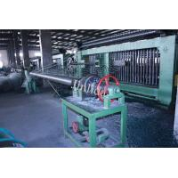 Buy cheap 4m Galfan Coated Wire Automatic Gabion Mesh Machine , Mesh Dia. 3.0mm - 3.2mm product
