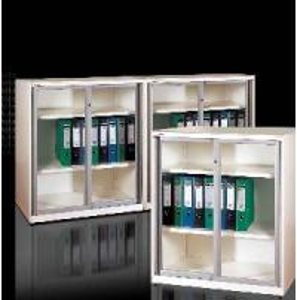 Buy cheap Glazed Sliding Door Filing Cabinet (Slender, With Super Slim Design) product