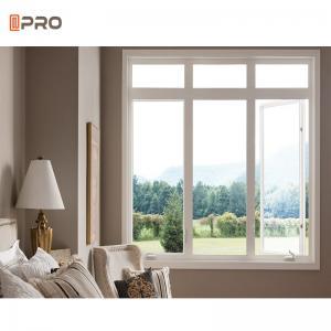 Buy cheap Aluminium Glass Casement Windows pane replacement European Style product