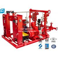 Buy cheap High Performance Centrifugal Fire Pump System 115PSI With 24.6kw MAX SHAFT Power product