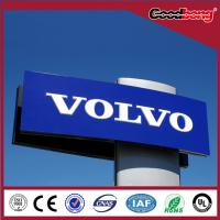Buy cheap Outdoor Durable Electroplating Acrylic Pylon Auto Shop Sign product