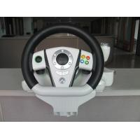Buy cheap Adjustable USB PC Xbox Steering Wheel And Pedals With Automatic Centering System product