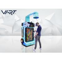 Buy cheap Easy Operation Children Game VR Arcade Machines White & Blue Color product