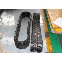 China Mini Excavator Rubber Tracks 3360mm Overall Length For Skid Steer Loaders on sale