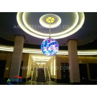 Buy cheap Sphere LED Screen /Global or Ball LED Screen P4.1 P4.8 P7.62 Led Video Full Color Led Scre product
