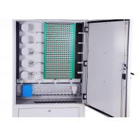 Buy cheap IP65 Cold Rolled Steel Fiber Optic Distribution Cabinet 288 Cores Distribution Connection product