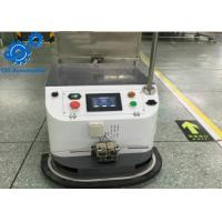 Buy cheap Single Way Tugger Type AGV Car , Carbon Steel Automated Guided Vehicle Robot product
