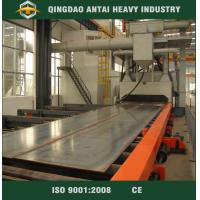 Buy cheap roller table pass through type shot blasting machine for construction structure industry product