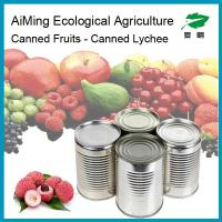 Buy cheap Canned  whole  lychee fruits in ligh syrup in can packing product