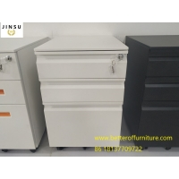 Buy cheap Gooseneck handle mobilesteelpedestalwith three drawers Letter/Legal file size use product