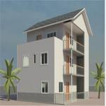 Buy cheap Easy Construction Light Steel Simple Prefab Villas Light steel villa product