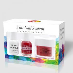 Buy cheap 2019 New nail artistry dipping powder starter set 3 in 1 gel Polish acrylic powder dip nail product