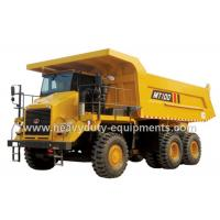 Buy cheap 95 tons Off road Mining Dump Truck Tipper  405kW engine power drive 6x4 with 50m3 body cargo Volume product