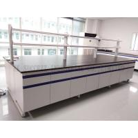 Buy cheap Adjustable Foot Biology Lab Furniture 16mm MFC Board Steel - Wood Casework product