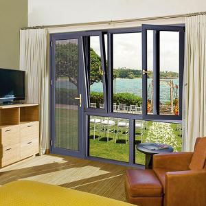 Buy cheap Apartment Tilt And Turn Sash Windows , Blackwood Aluminium Glazed Windows product