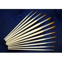 Buy cheap New artist brush, best oil painting brush,12pcs per set bristle brush product