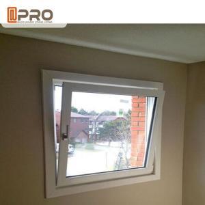 Buy cheap Double Glass Thermal Break Tilt And Turn Aluminum Windows / Bathroom Tilt Open Windows product